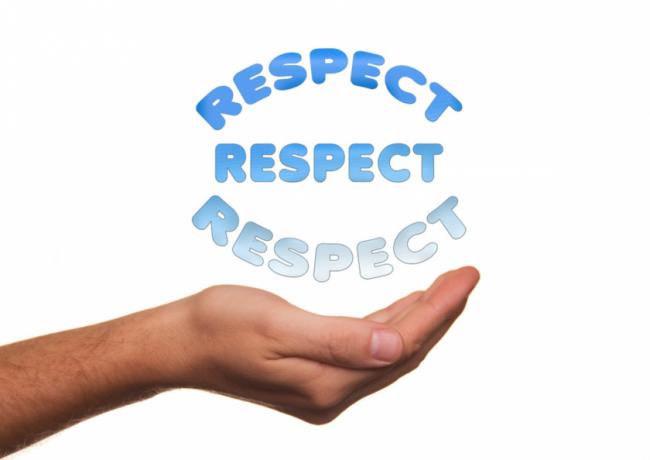 respeto hacia todo el mundo