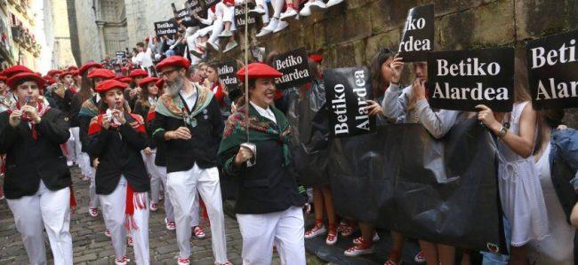 desfile en hondarribia
