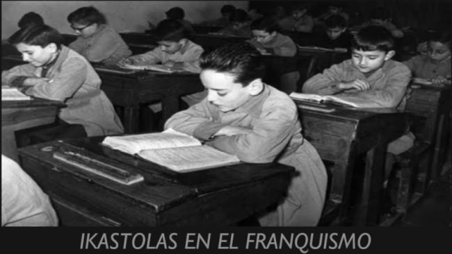 euskera en el franquismo