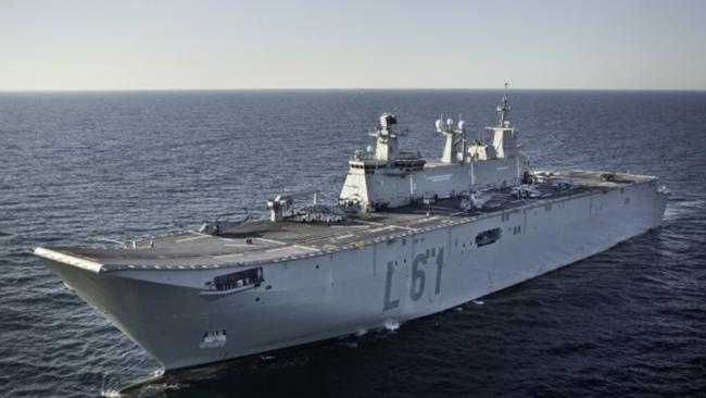 portaaviones Juan Carlos I