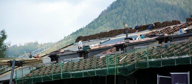 la casa por el tejado